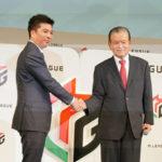 最高顧問・川淵三郎さんが開幕宣言! プロ麻雀リーグ「Mリーグ」はスポーツ化を目指し、ユニホーム着用