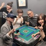 中川翔子(しょこたん)さんが、マンガ家・福本伸行先生と麻雀! メンツが豪華と話題に