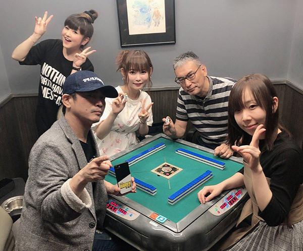 中川翔子(しょこたん)、福本伸行さん(漫画家)、萩原聖人(俳優、麻雀プロ/Mリーガー)、魚谷侑未