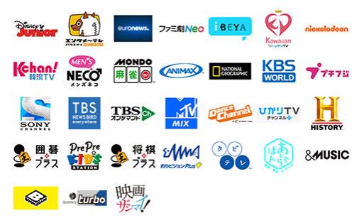 dTVチャンネル 31チャンネル見放題