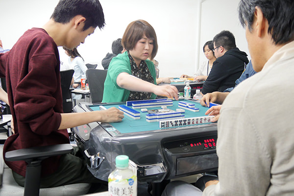 英語で麻雀! English Mahjong Tournament 東京