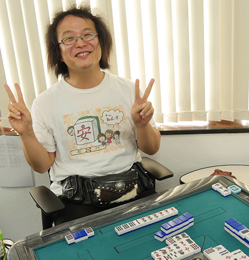 役満 English Mahjong Tournament
